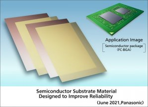 Panasonic Commercializes a New Semiconductor Substrate Material Designed to Improve Reliability
