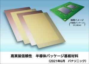 高実装信頼性の半導体パッケージ基板材料を製品化
