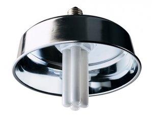 消費電力を2割低減した「UV-B電球形蛍光灯(反射傘セット)」を発売