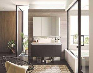 衛生面・お手入れ性能・デザインにこだわって、洗面化粧台2シリーズをリニューアル